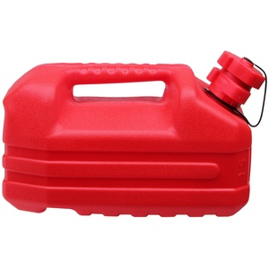 ONDIS24 Kanister Benzinkanister Reservetank Kanister für Kraft- & Schmierstoffe integrierter Ausgießer & Tropfschutz UN-Zulassung 5 Liter, 5000 ml