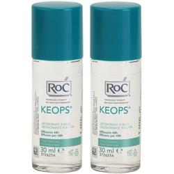 RoC Keops Deoroller 48h 2x30 ml