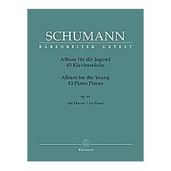 Album für die Jugend  Klavier. Robert Schumann  - Buch
