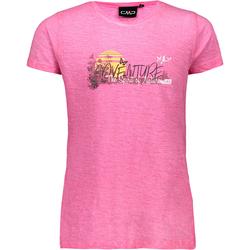 CMP T-Shirt Mädchen in bouganville, Größe 110 bouganville 110