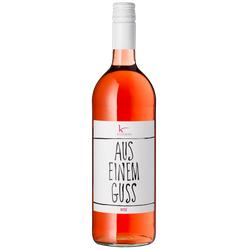 Aus einem Guss Rosé halbtrocken - 1,0 L - 2019 - Kesselring - Roséwein
