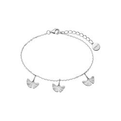 XENOX Damen Armband 'Ginkgo, XS1983' silber, Größe One Size, 4811821