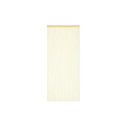 Fadenvorhang Fadenvorhang beige, relaxdays 90 cm x 245 cm