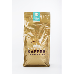 Hannoversche Kaffee Manufaktur Kaffeemanufaktur Hannoversche Kaffee Manufaktur Bio Espresso India Verde 1kg