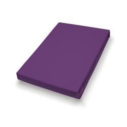 Kissenbezug Jersey lila (BL 80x80 cm) Hahn
