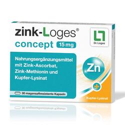 ZINK-LOGES concept 15 mg magensaftres.Kapseln 30 St