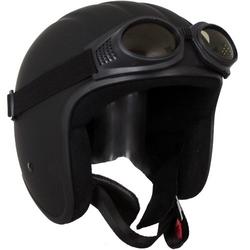 Sting Invador schwarz matt mit Brille