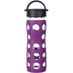 Lifefactory Trinkflasche lila