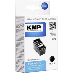 KMP KMP Tintenpatrone H25 Schwarz 1023,4339 Tintenpatrone
