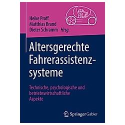 Altersgerechte Fahrerassistenzsysteme - Buch