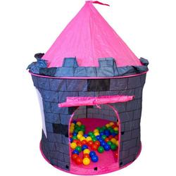 NATIV Spielzeug Bällebad, TURM mit 100 Bällen