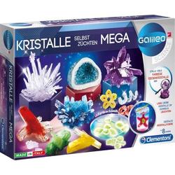 Clementoni 59130 Galileo - Kristalle selbst züchten - Mega Maker Kit ab 8 Jahre
