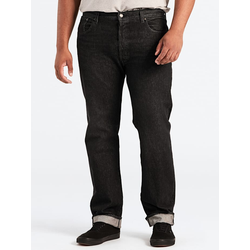 Straight Fit Jeans 501™ geknöpft Levi's Schwarz