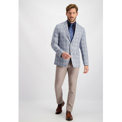 Lavard Sakko in blauen und grauen Farbtönen in blauen und grauen Farbtönen 48