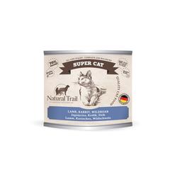 5x200g  + 200g GRATIS Natural Trail SUPER CAT  Super Premium Nassfutter für Katzen Katzenfutter