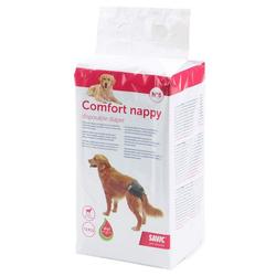 Savic Hundewindel Hundewindel Einwegwindel Schutzhose, für Hunde Comfort Nappy Größe 5 (Taillenumfang: 40-52 cm)