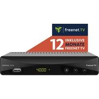 DigitalBox T2 IR DVB-T2 HD und DVB-C Receiver mit 12 Monate freenet TV inklusive