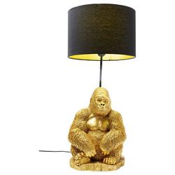 KARE Tischleuchte Ausgefallene Monkey Gorilla Gold