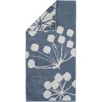 CAWÖ Cottage Floral 386 Handtuch 50 x 100 cm nachtblau