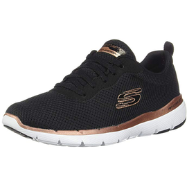 SKECHERS Flex Appeal 3.0 - First Insight black-rosegold/ white, 38