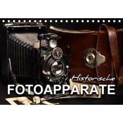 Historische Fotoapparate (Tischkalender 2021 DIN A5 quer)