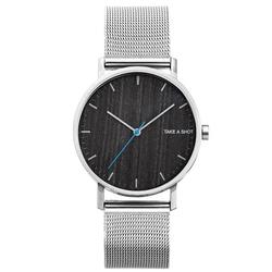 Take A Shot Huck Armbanduhr mit Holz-Zifferblatt