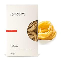 Monograno Felicetti Kamut Tagliatelle - dünne Bandnudeln aus Kamutmehl, 500g
