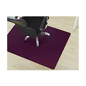 Bodenschutzmatte Floordirekt Pro Hartböden Lila Polypropylen 1200 x 1500 mm