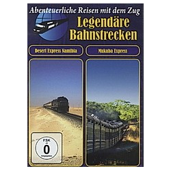 Legendäre Bahnstrecken - Desert Express Namibia / Mukuba Express - DVD  Filme