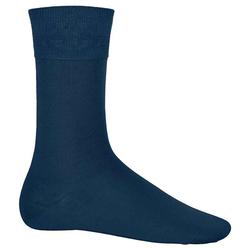 City-Socken Baumwolle | Kariban navy 43/46