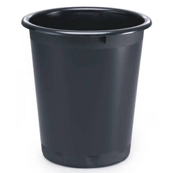 Papierkorb 13l schwarz