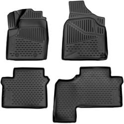 WALSER Passform-Fußmatten XTR (4 Stück), VW Sharan Großr.lim., für VW Sharan BJ 1995 - 2010