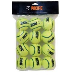 gelb - Tennisbälle- Pacific - Mini Play Tennisbälle - 12er Pack