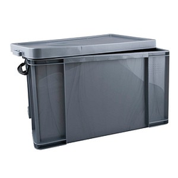 Really Useful Box Aufbewahrungsbox 84,0 l silber 71,0 x 44,0 x 38,0 cm