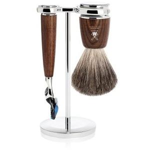 Mühle Rytmo Reines Dachshaar Gillette Fusion Eschenholz Rasierset 1 Stk