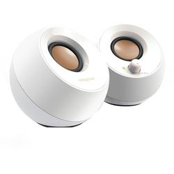 Creative Pebble 2.0 Lautsprecher (4,4 W) weiß