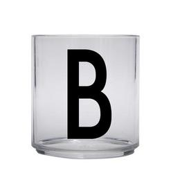 Design letters personalisiertes Trinkglas für Kinder Buchstabe B