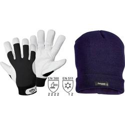 Griffy L+D 1246-L Nappaleder Arbeitshandschuh Größe (Handschuhe): 9, L EN 388 , EN 511 CAT II 1 Se