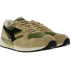 Diadora diadora N9002 Premium Sport-Schuhe angesagte Herren Wildleder-Schuhe Trend-Schuhe Beige Fußballschuh 43