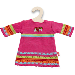 Heless Puppenkleidung Strickkleid Hearty Gr. 28-35 cm, Puppenkleidung