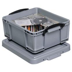 Really Useful Box Aufbewahrungsbox 18,0 l silber 48,0 x 39,0 x 20,0 cm