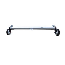 Achse 1500 kg, 1260 mm, GEBREMST, für Pkw- Anhänger, AL-KO