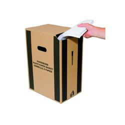 Smartbox Pro Papierkorb, Papierkorb aus Karton Abfallkorb Mülleimer Papiereimer Bürokorb Wellpappe Abfalleimer