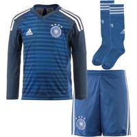 adidas DFB Torwarttrikot-Kit Heim 2018 Kinder langarm