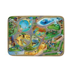 Kinderteppich Ultrasoft Spielteppich, Zoo, 100 x 150 cm, ACHOKA®
