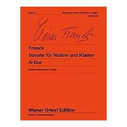 Sonate für Violine und Klavier A-Dur - Buch