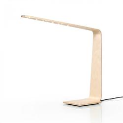 LED4 Tischleuchte Birke / Weiß