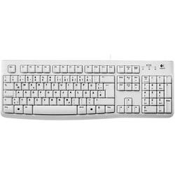 Logitech K120 Corded Keyboard Flaches Profil weiß