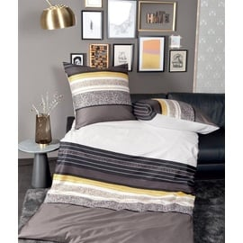 JANINE J.D. 87046 gelbgold/braun/schwarz 135 x 200 cm + 80 x 80 cm