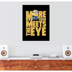 Posterlounge Wandbild, Minions Eye 100 cm x 130 cm